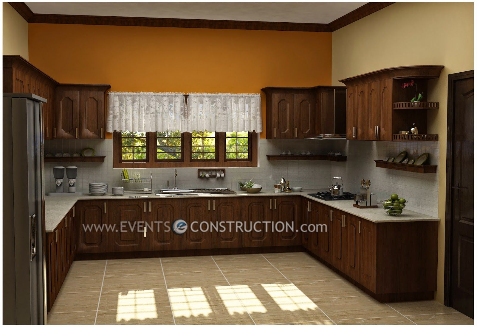 Interior Design Kitchen Kerala Style
