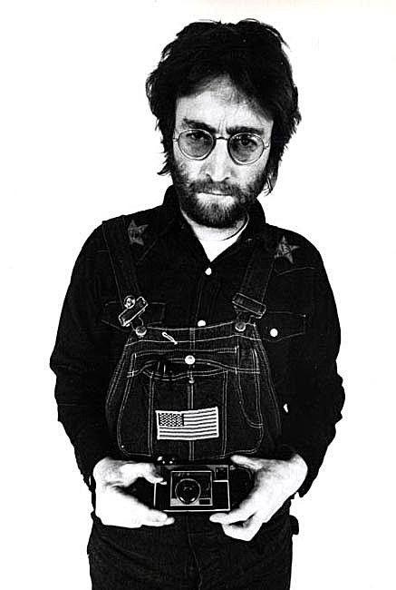 John Lennon - Photo of a Photographer, genius musician, Legend. Thank you John...