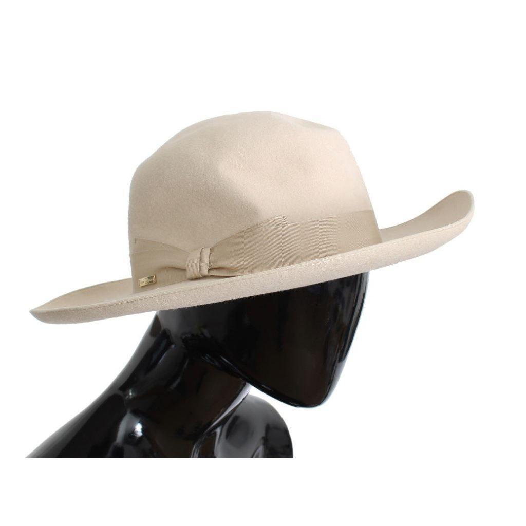 d559788b4b4fc6 White Rabbit Fur Wide Brim Hat in 2018 | Products | Pinterest ...