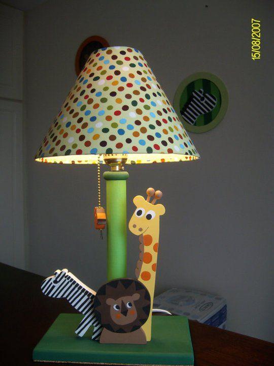Jungle Lamp For Kids Kids Decor