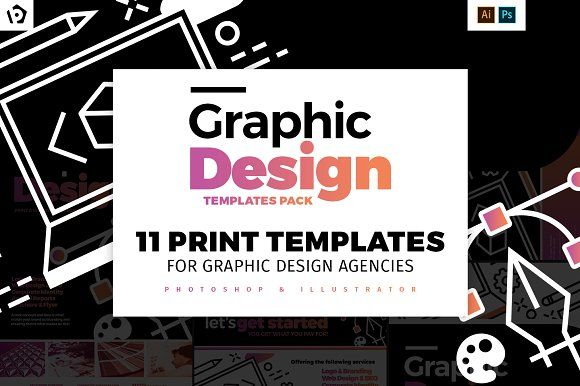 Graphic Design Agency Templates Pack By Brandpacks On