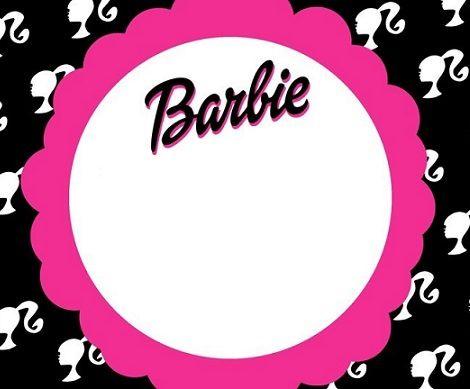 Invitaciones De Cumpleaños De Barbie Invitaciones De