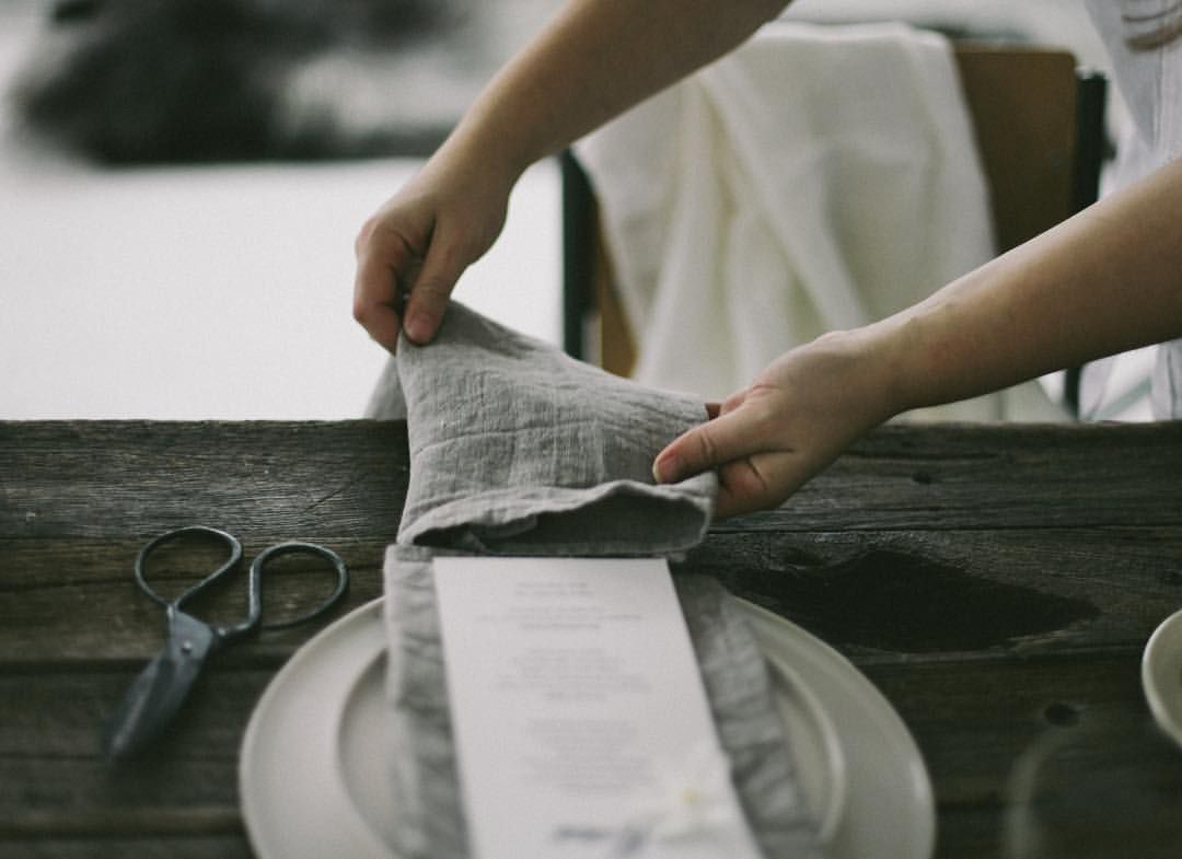 The simple, quiet, yet refined moments. Our work captured beautifully by @brownpaperparcel