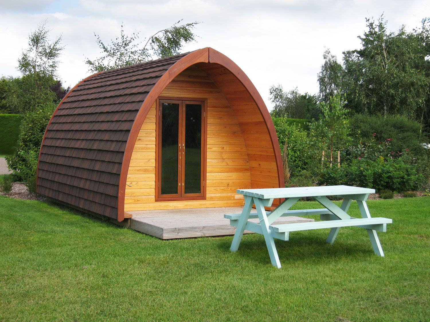 camping pods camp ideas pinterest