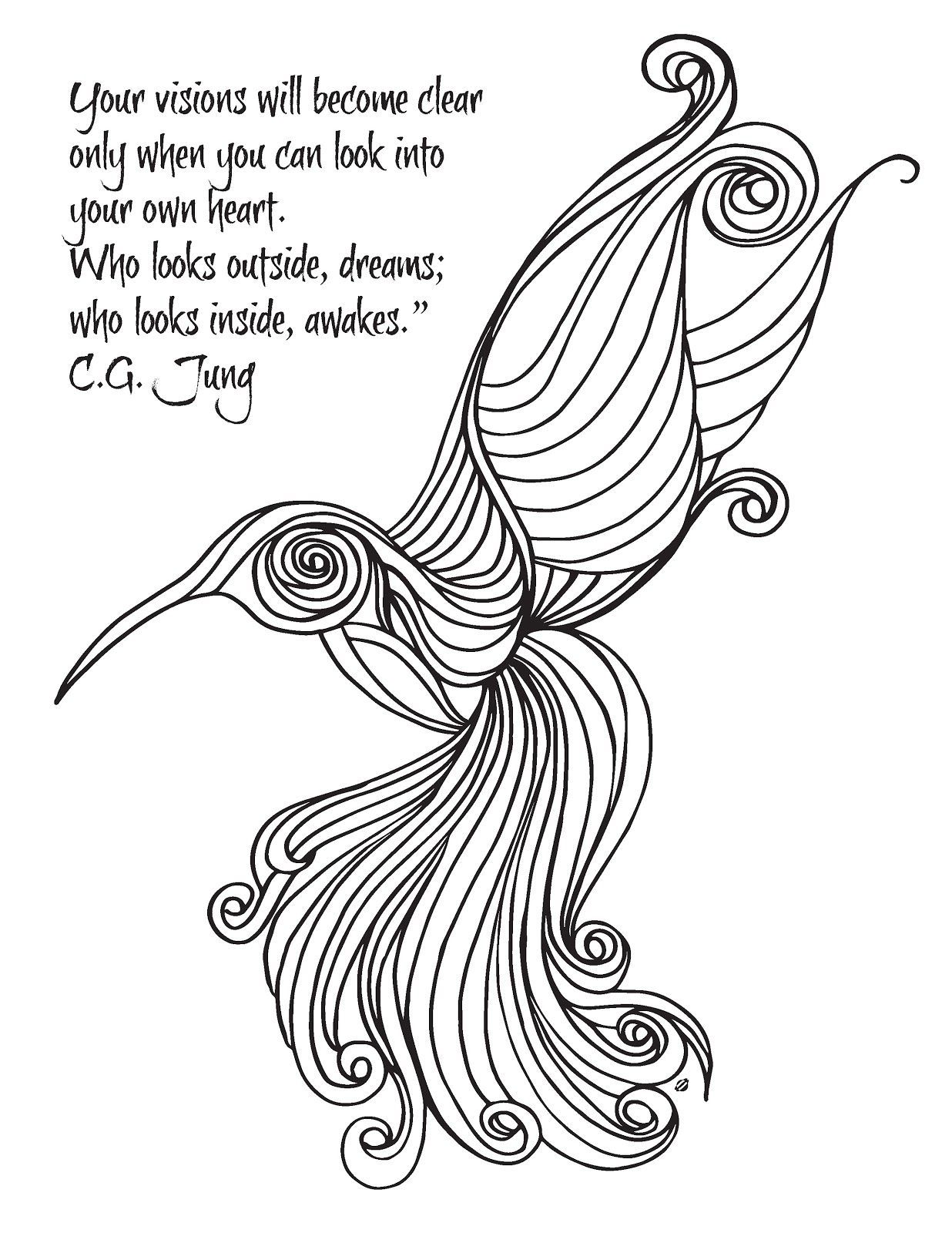 Lucrative image regarding free printable quote coloring pages for adults