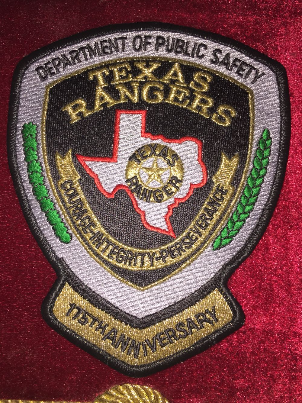 Texas department of public safety Texas Ranger patch
