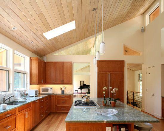 Best Kitchen Shed Roof Design Vaulted Ceiling Kitchen 400 x 300