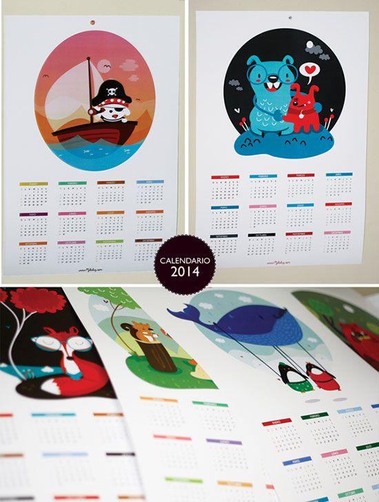 Creative Digital Calendar 41 cool & creative calendar design ideas for 2014 | creative