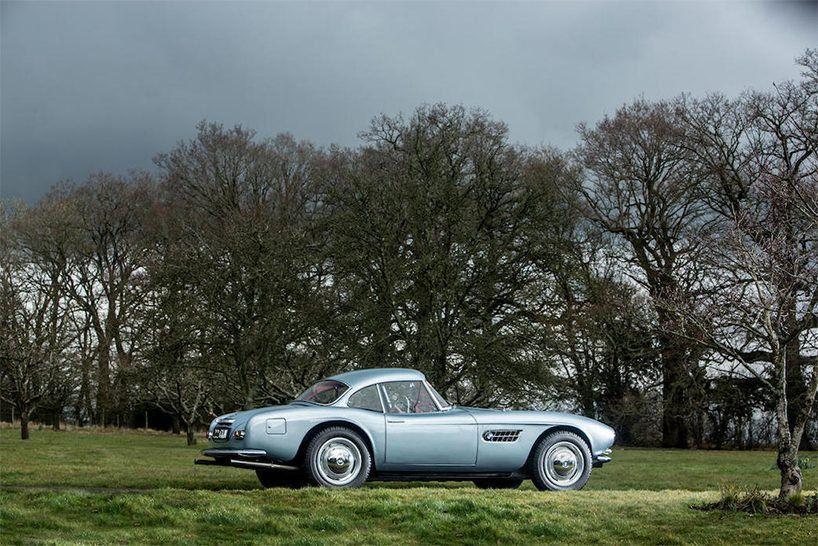 racing legend john surtees' BMW 507 roadster at auction