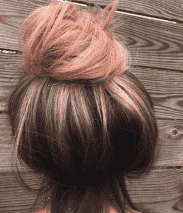 30 Best Rose Gold Hair Ideas -   12 hair Rose Gold make up ideas