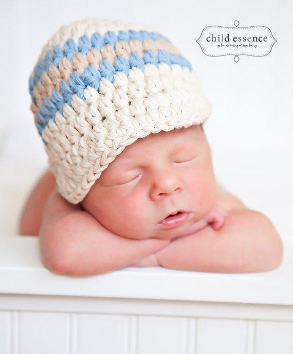 7f04c5638de 9 Sizes 30 Colors Baby Hat Baby Boy Hat Toddler Hat Toddler Boy Hat Mens Hat  Crochet Cotton Hat Wint
