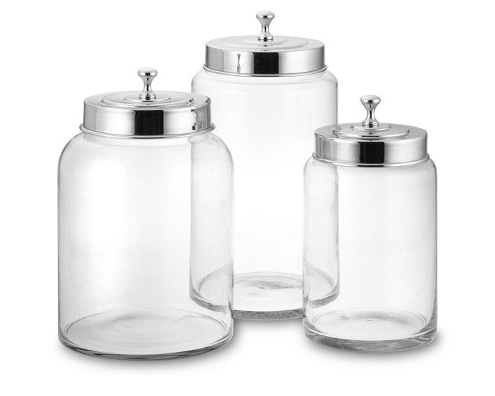Wide Mouth Glass Canister Glass Canisters Glass And Laundry