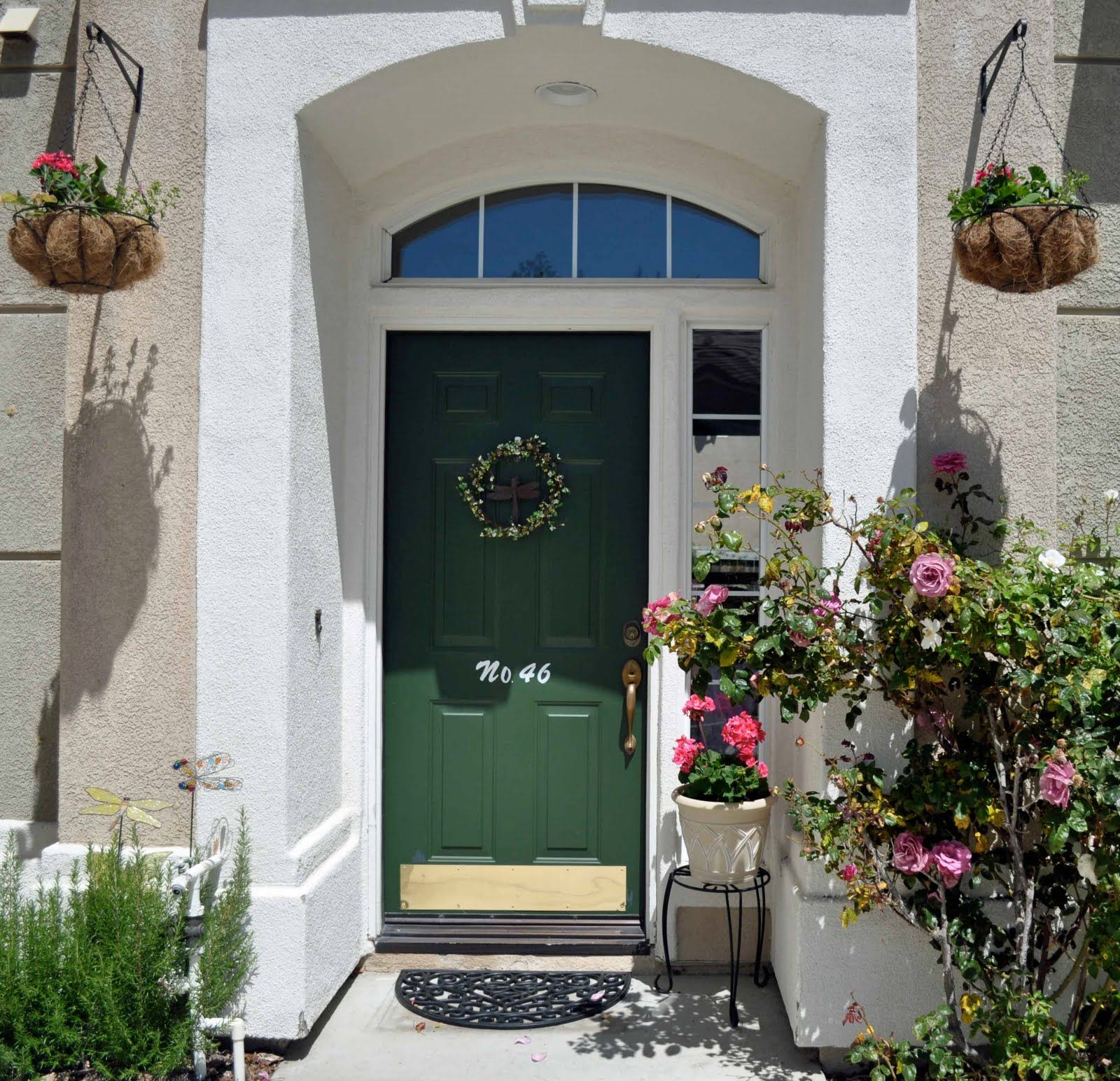 How To Add Curb Appeal To Your Off Center Entry Way Fancy Front