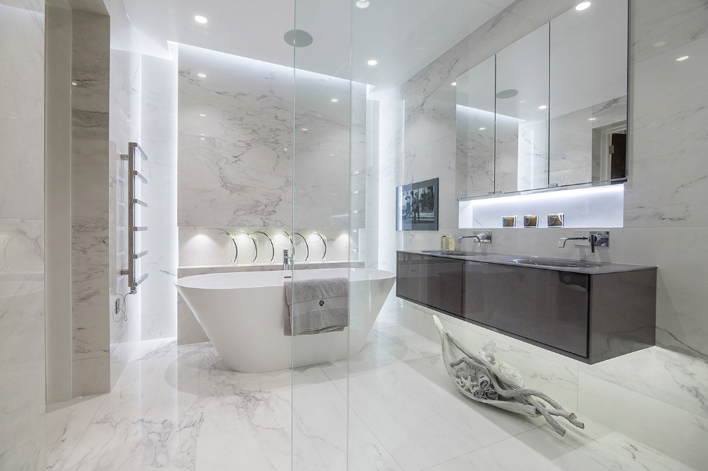 Luxury Bathrooms Hadley Wood London Tiles Baths Direct Ensuite Bathroom Designs Bathroom Vanity Trends Luxury Bathroom