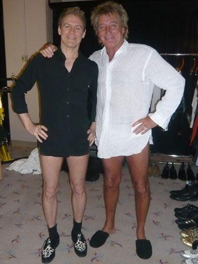 873de81566 Bryan Adams   Rod Stewart.....there s those  HOT LEGS !!
