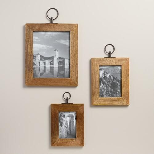 One of my favorite discoveries at worldmarket com natural wood alister wall frame
