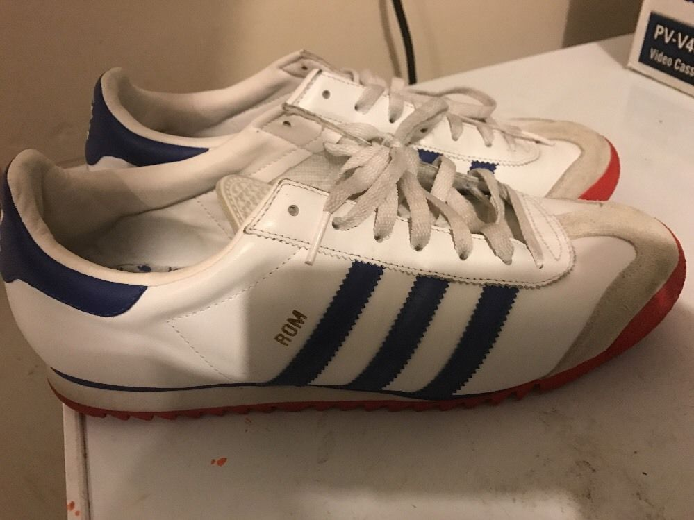 Vintage Adidas ROM 11 uk 11.5 us Made In Indonesia Great Condition | eBay