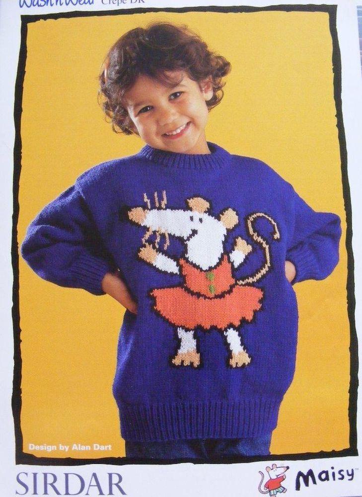 Sirdar Maisy by Alan Dart Maisy s Dancing Sweater DK Knitting ...