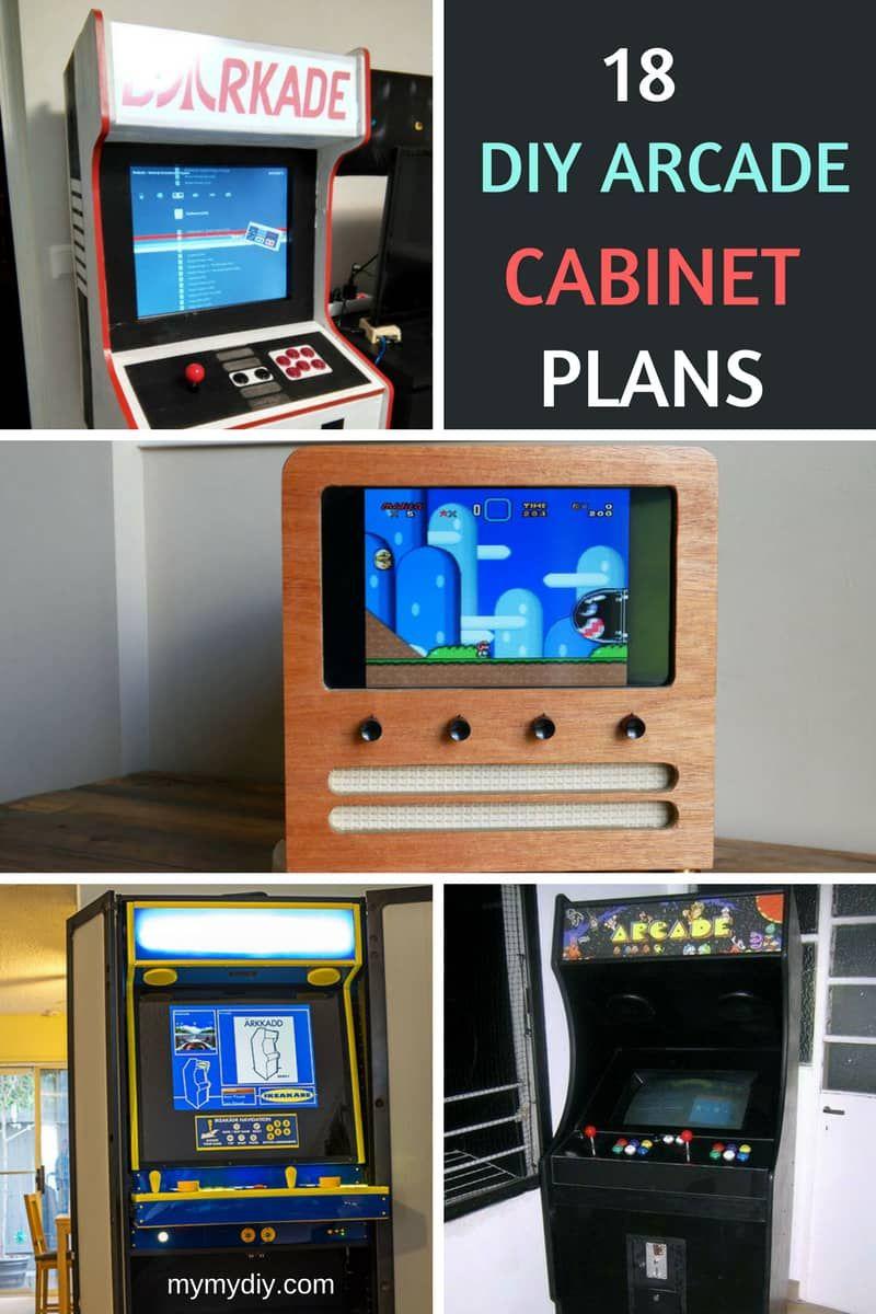 Diy Arcade Cabinet Plans Diy Arcade Cabinet Arcade Cabinet Plans Arcade