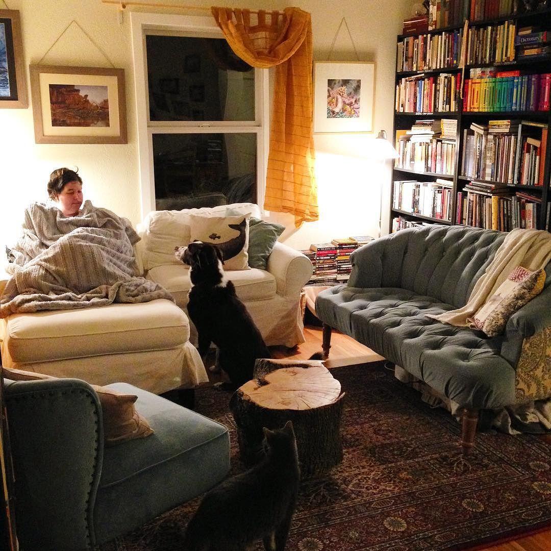 Spontaneous living room rearrangement is complete. # ...