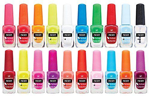 Gabrini Neon Nail Polish 20 Color Set 13ml 0 44floz Find