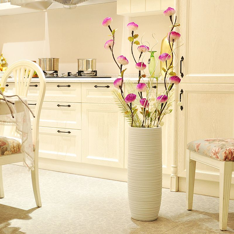 Buy Ceramic Fashion Modern Brief Large Floor Vase Decoration Crafts
