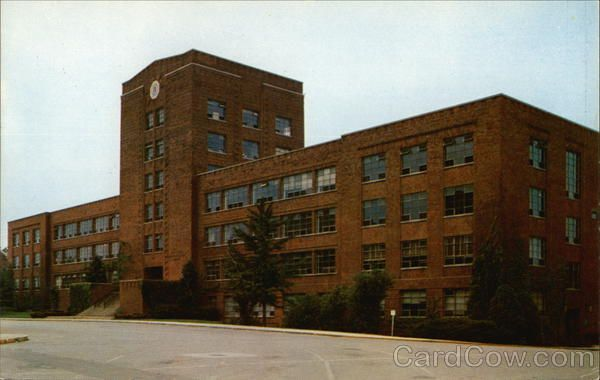 Funkhouser Building University Of Kentucky Lexington Ky Postcard