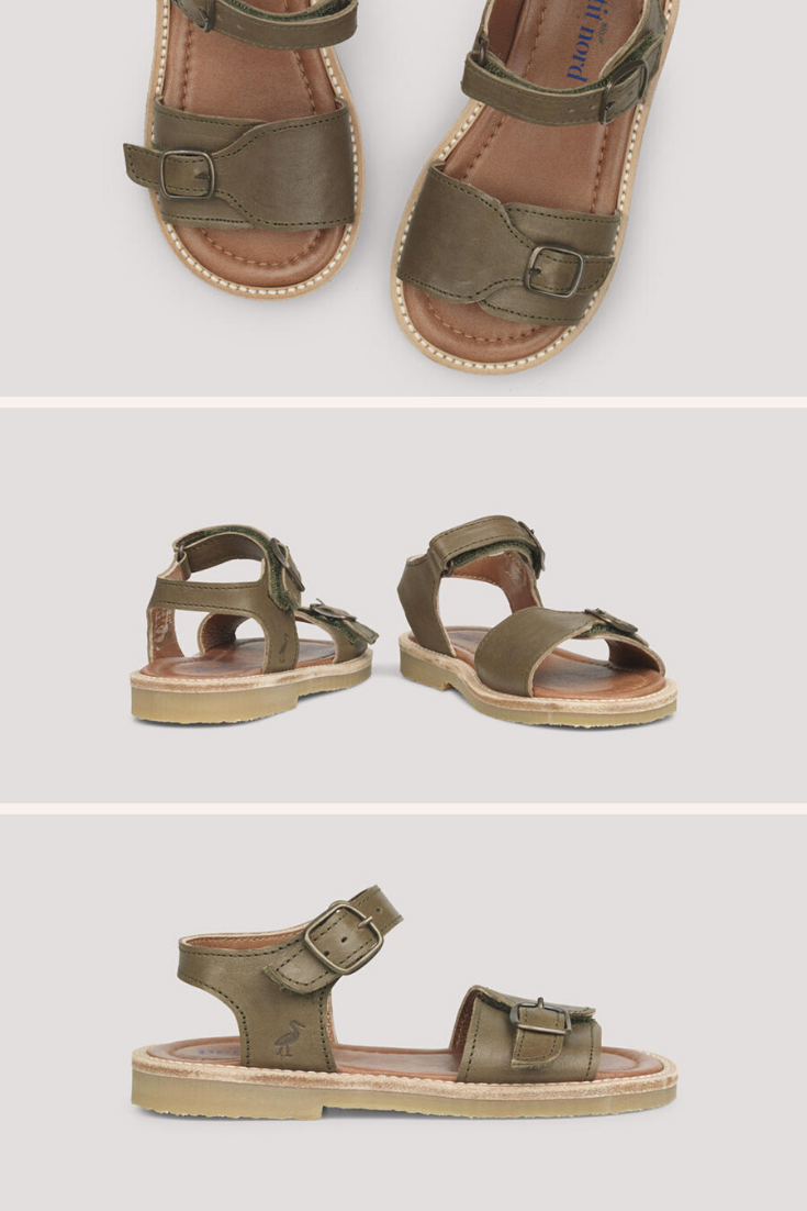 Sustainable kids summer shoes in 2020