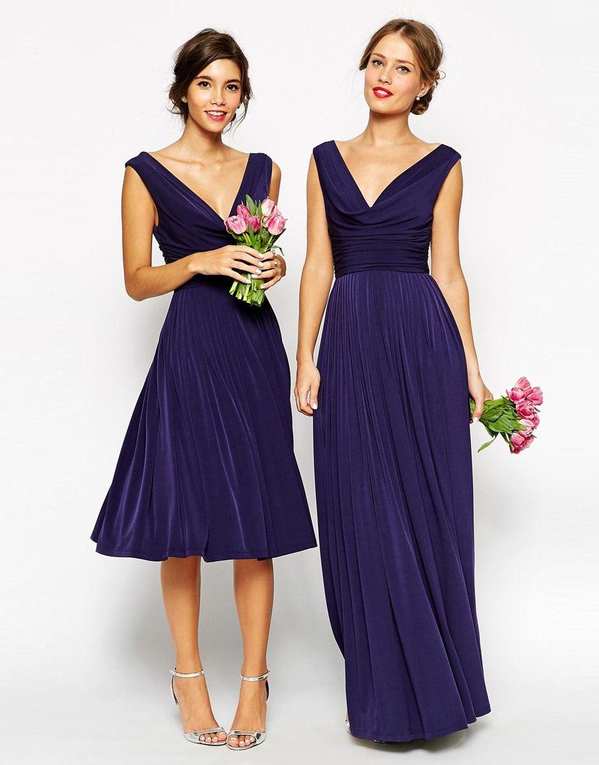 3812a27f620 Asos Bridesmaid Dresses Navy Blue