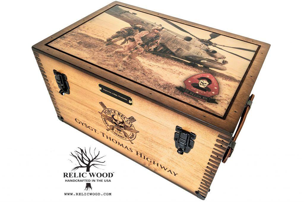 Custom Military Retirement Keepsake Shadow Box in 2020