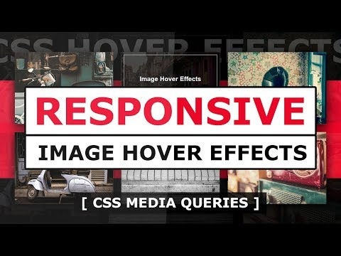 (28) Responsive CSS Image Hover Effect Html CSS