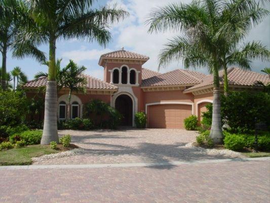 Peach Florida House Color Theme Florida Dream Home