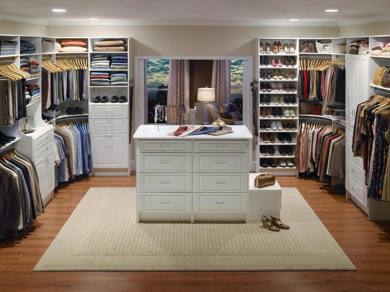 Master bathrooms with built in closets - What You Should Know About Closets