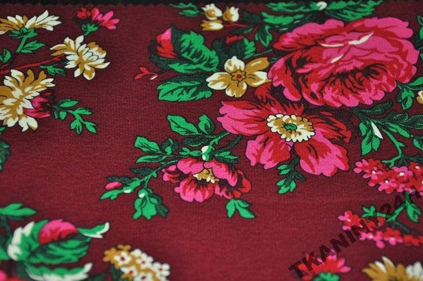 Tkanina Goralska Folk Wzor Bukowianski Hit 5900729382 Oficjalne Archiwum Allegro Polish Embroidery Traditional Fabric Fabric