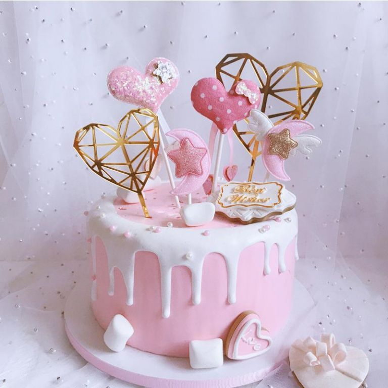 Baby shower cake toppers nz luxury 2019 star moon cake