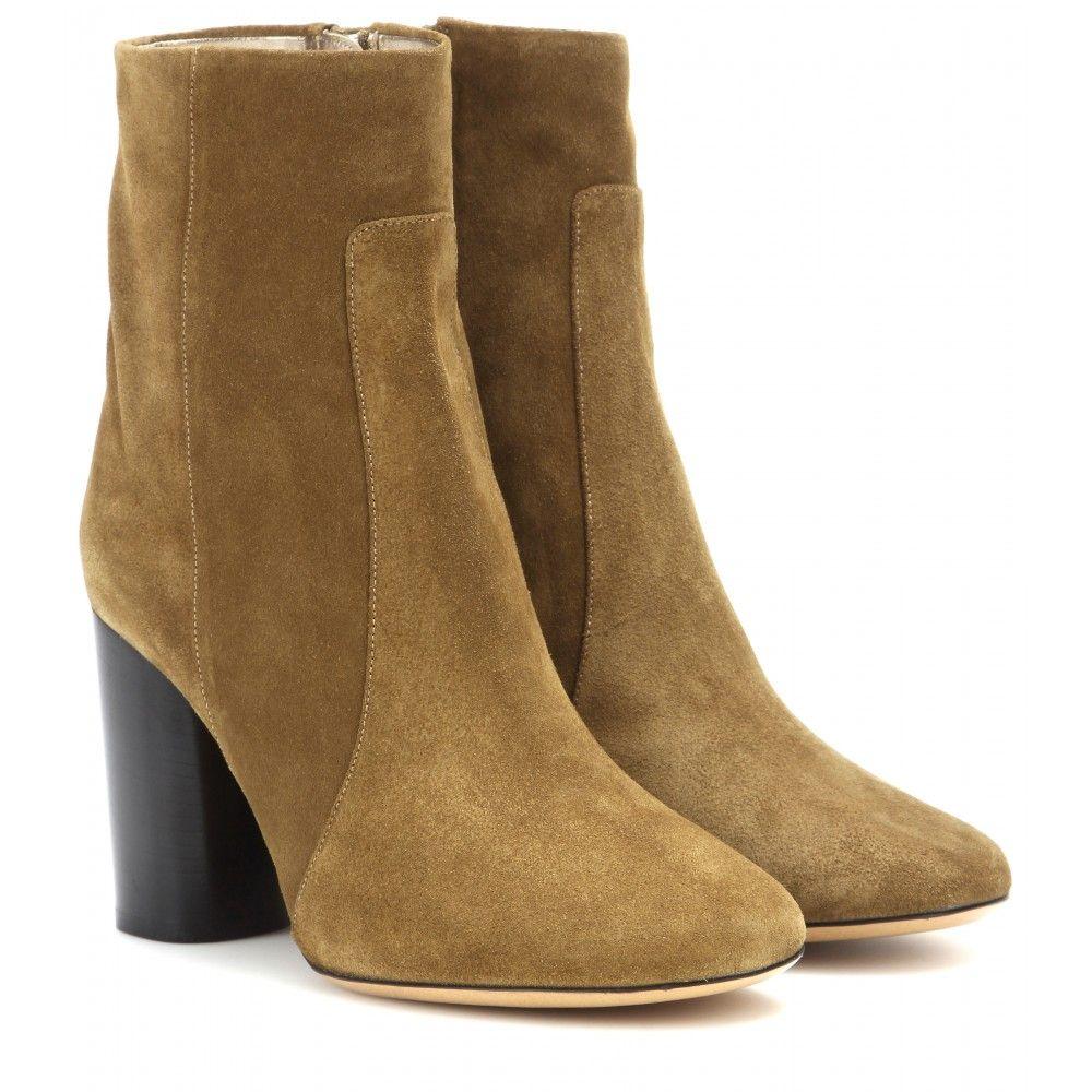 Bottines En Daim, Bottes Isabel, Daim, Blocs Talons, Boots 000876, Boots  680, Marant Garbo, Garbo Suede, Contemporary Alternative