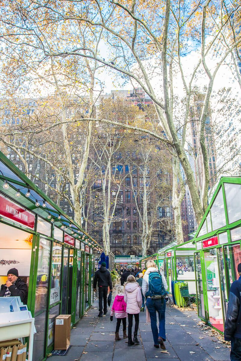 Bryant Park Christmas Market.Pin On New York