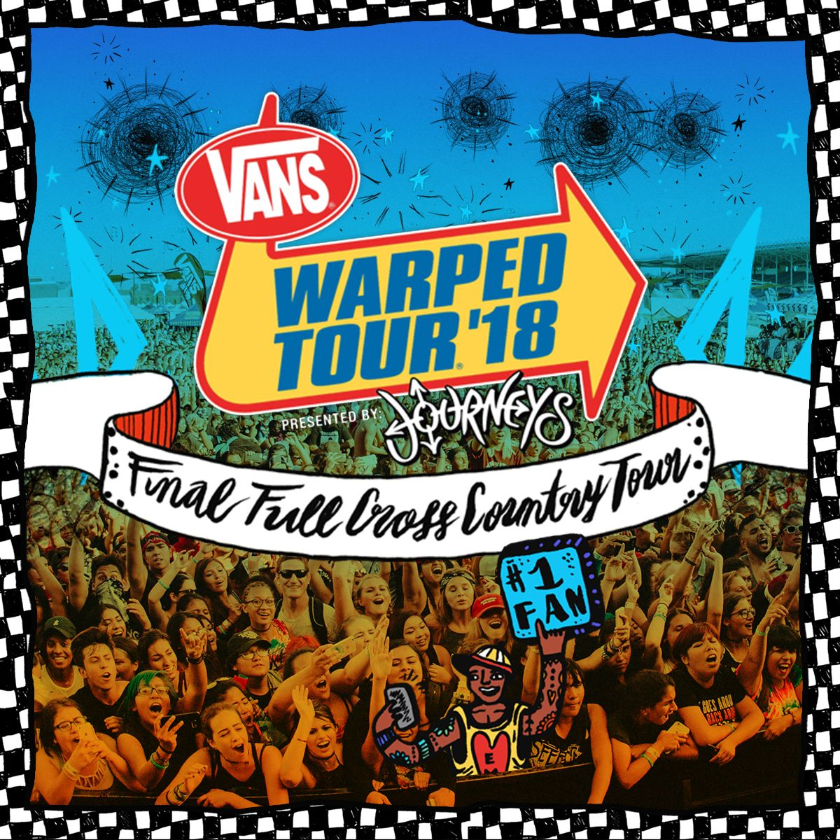 Warped Tour Has Been Around Since 1995 And This Summer Marks The Last Tour This Tour Consists Of Many Differen Vans Warped Tour Warped Tour Warped Tour Lineup