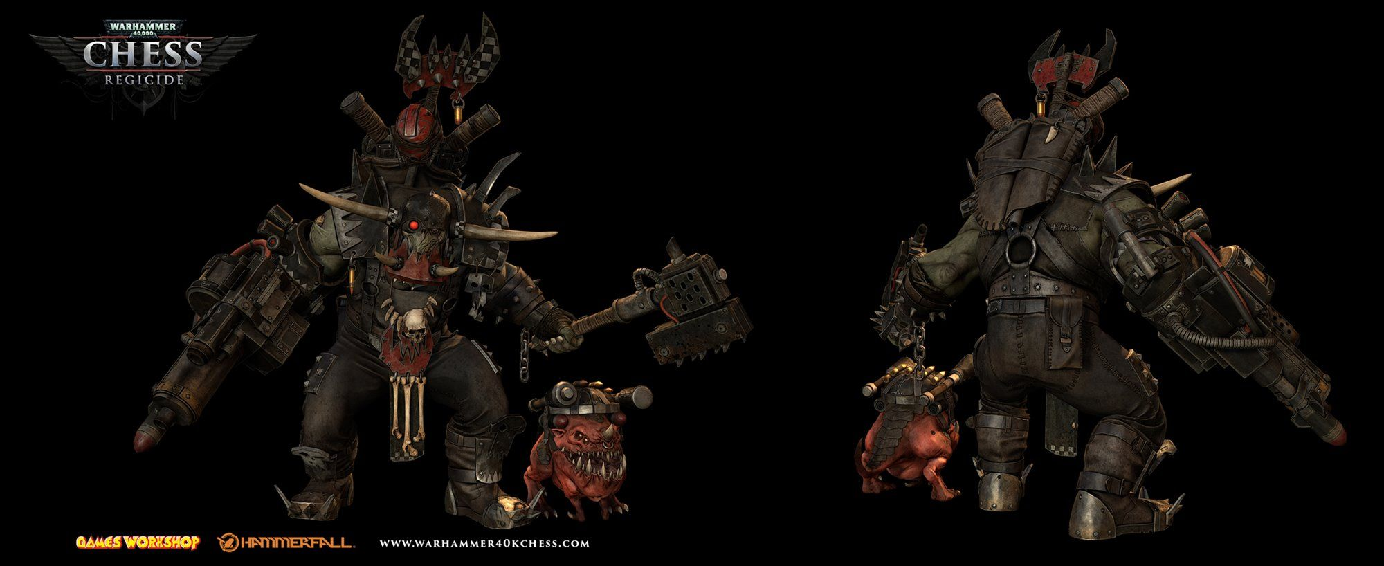 axe orks regicide(game) squig warboss