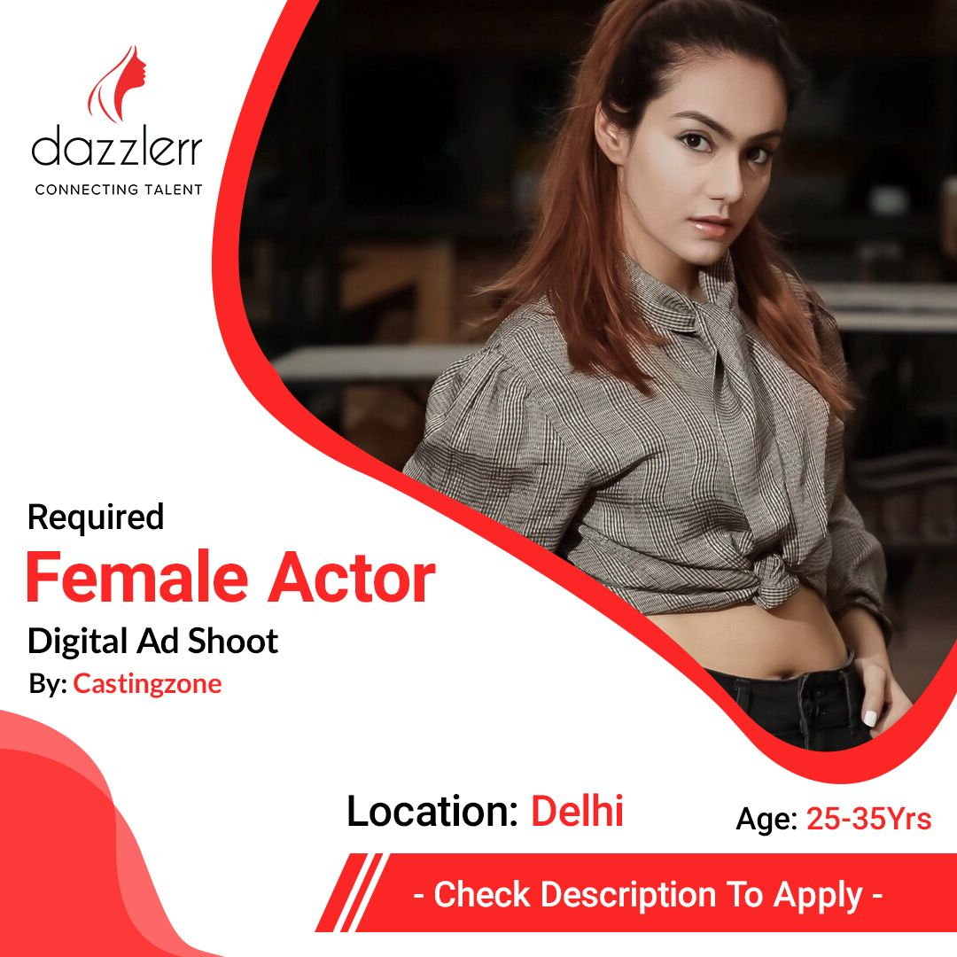 Required Female Theater Artists For Digital Ad Shoot