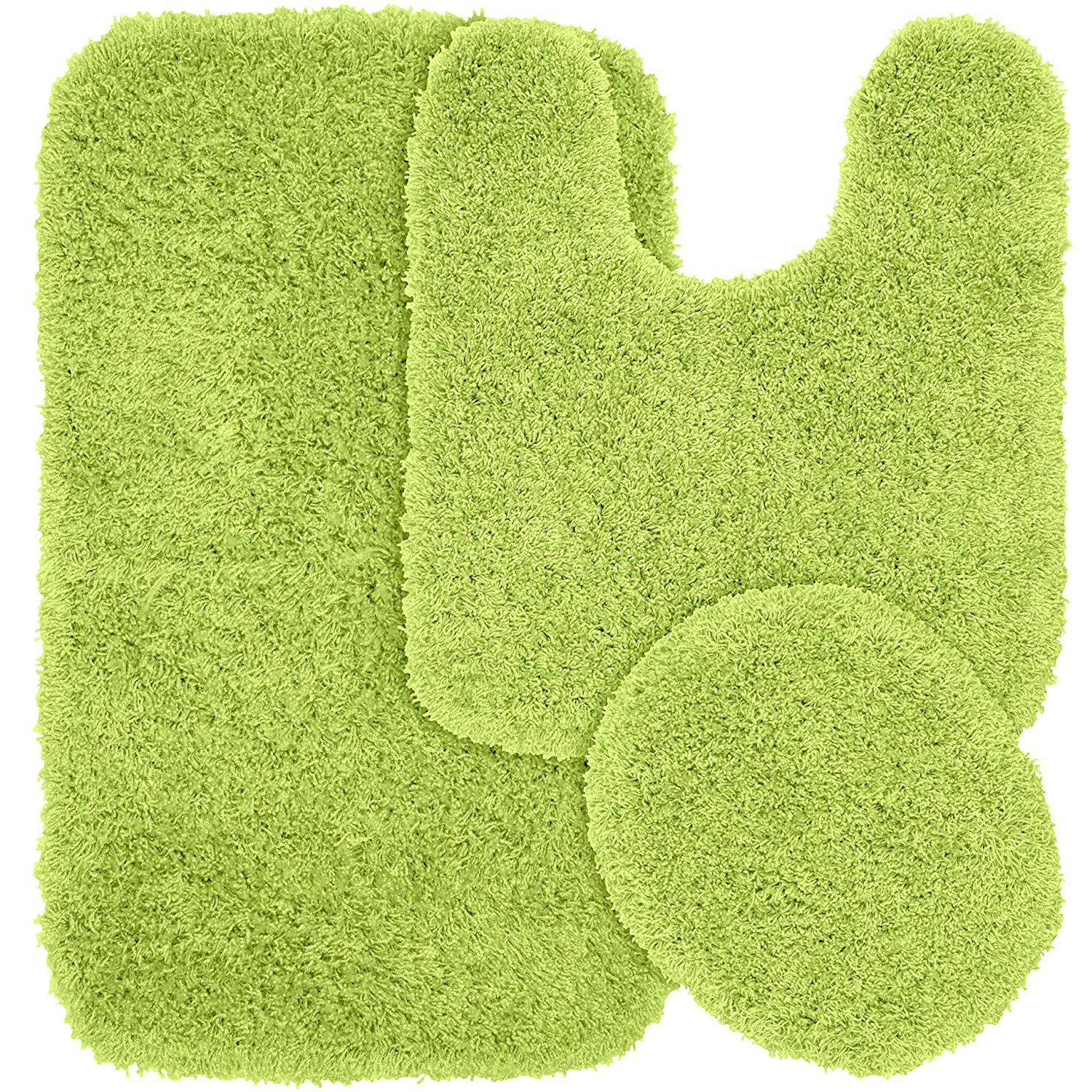 garland rug 3 piece jazz shaggy washable nylon bathroom rug set rh pinterest co uk green bathroom rugs walmart green bathroom rugs at target