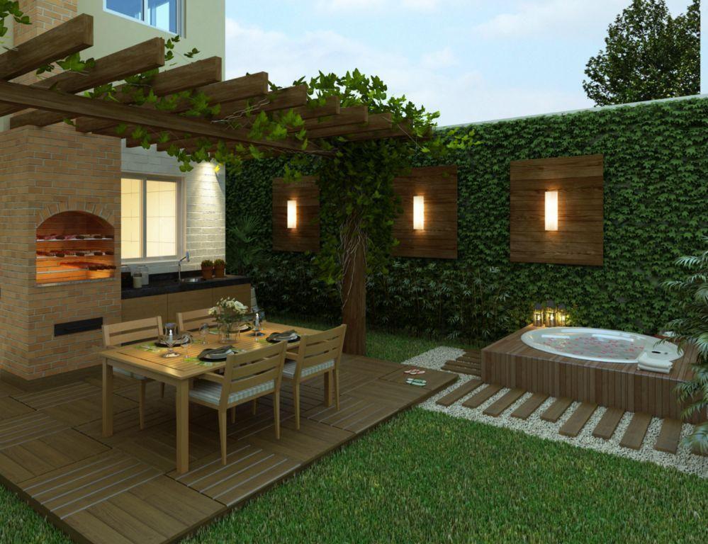 Jardines Pequeños Diseño De Patio Patios Traseros Y