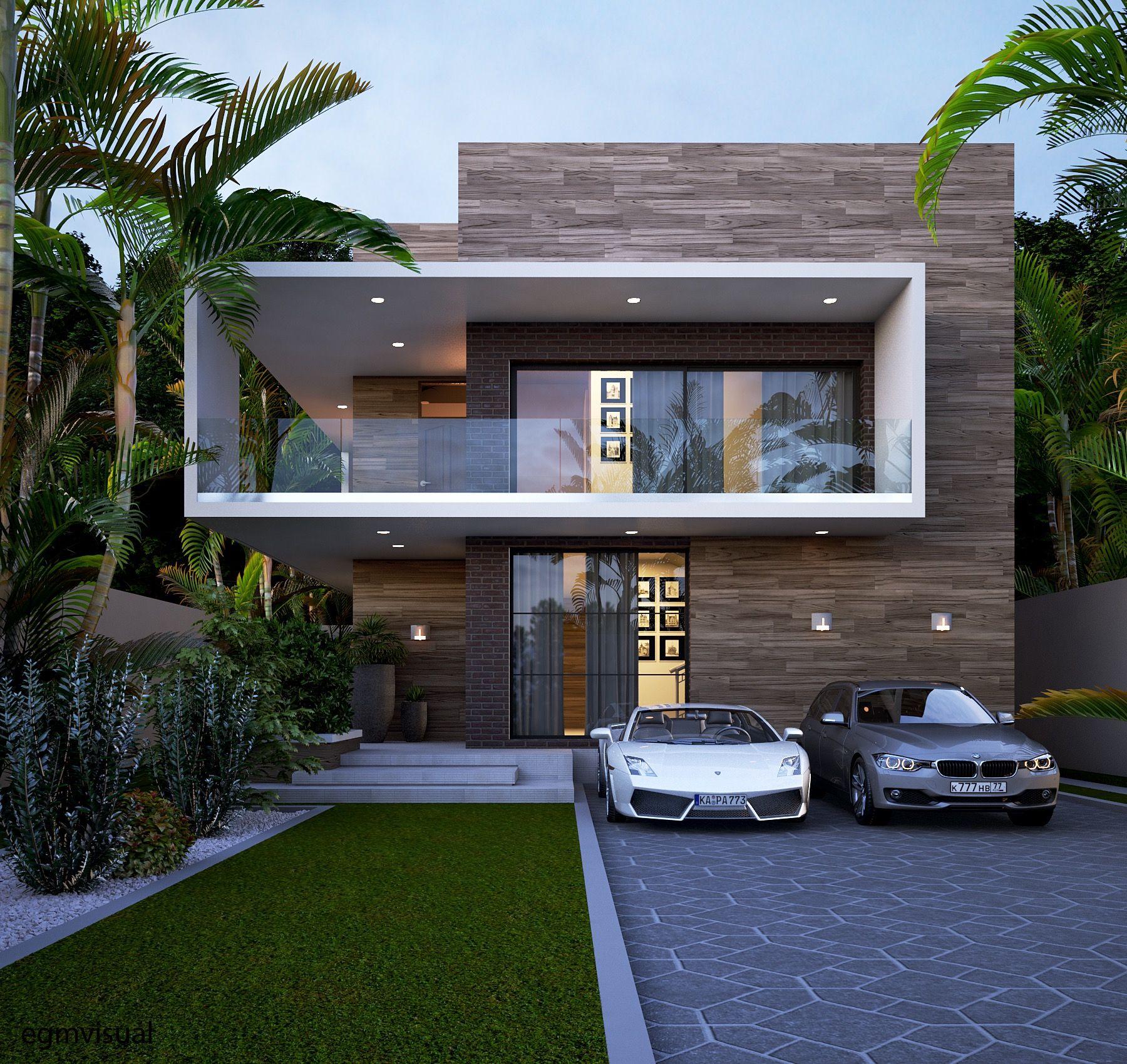Contemporary home by egmdesigns fachadas de casas for Casa moderna design