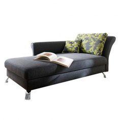 Recamiere mit schlaffunktion  Recamiere Habay (mit Schlaffunktion) | Wohnzimmer | Pinterest