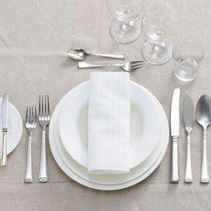 Tisch eindecken so geht 39 s richtig tisch eindecken Knigge besteck