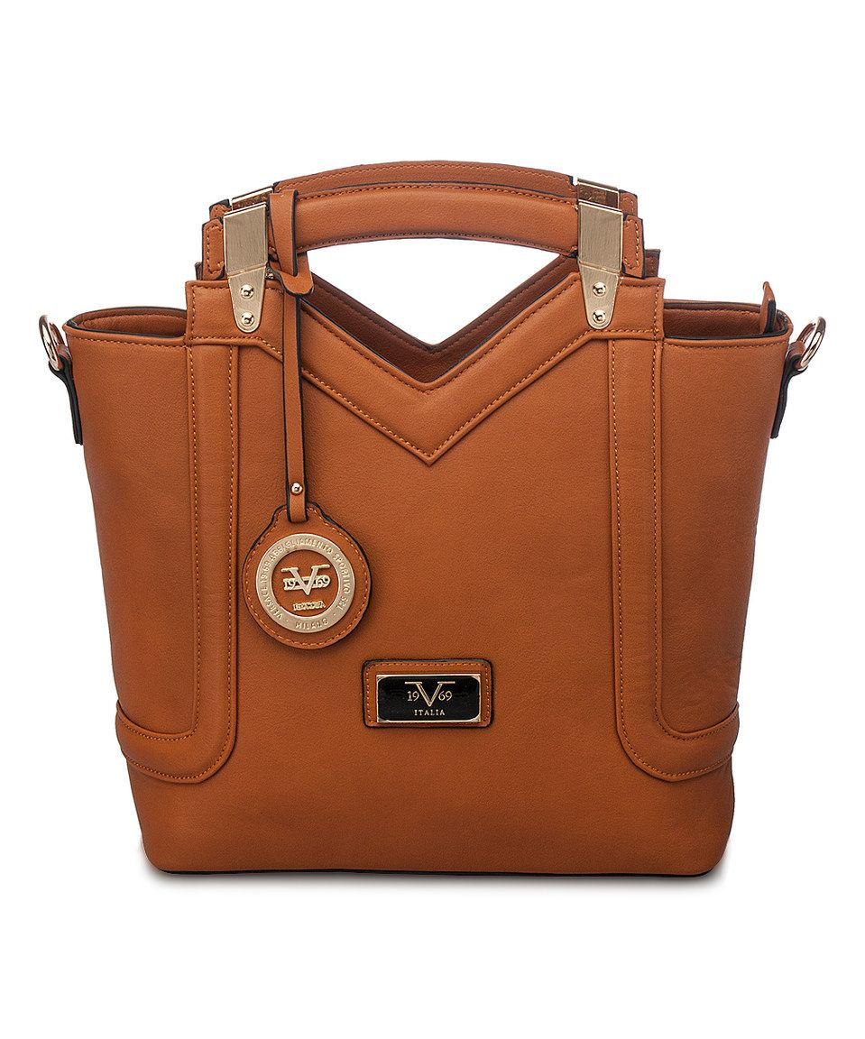 Look what I found on  zulily! Versace 1969 Brown New York Satchel by  Versace 1969  zulilyfinds 85865e95b61ea