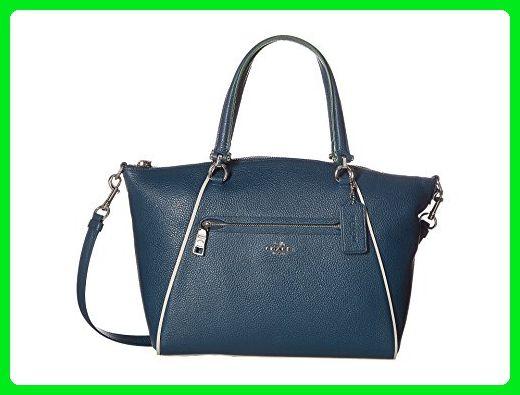 COACH Women s Edgestain Prairie Satchel Sv Mineral Multi Handbag - Top  handle bags (  3ad8d621ed