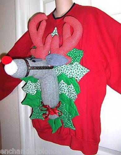 ugly christmas sweater :)