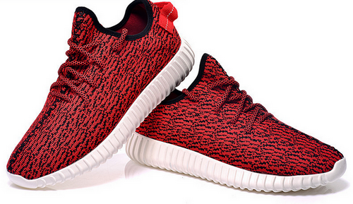 Womens Adidas Yeezy Boost 350 Low Kanye West Red Uk