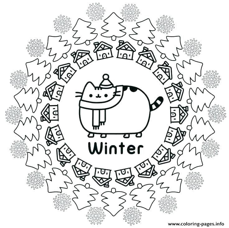 30++ Printable christmas kitten coloring pages ideas